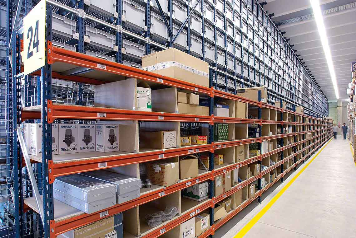 Longspan Shelving Industrial Warehouse Shelving Systems