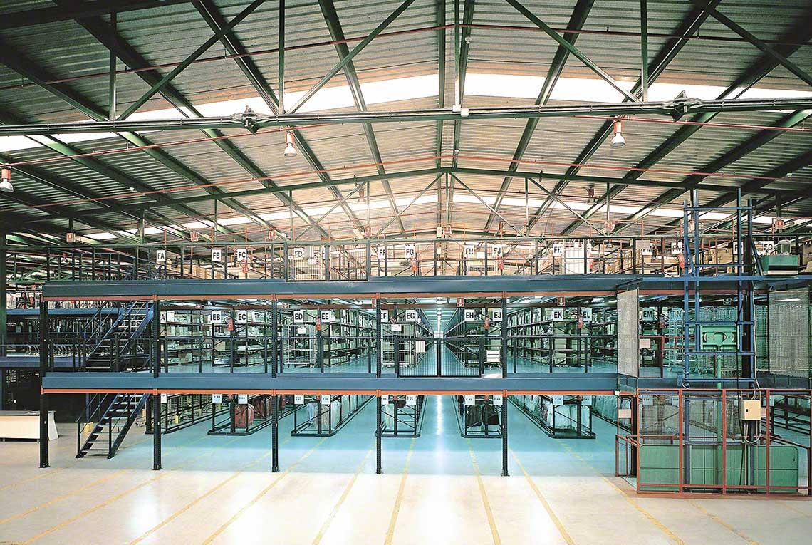 Mezzanine Floor Materials : Mezzanine floor ce marked structural steelwork supplied