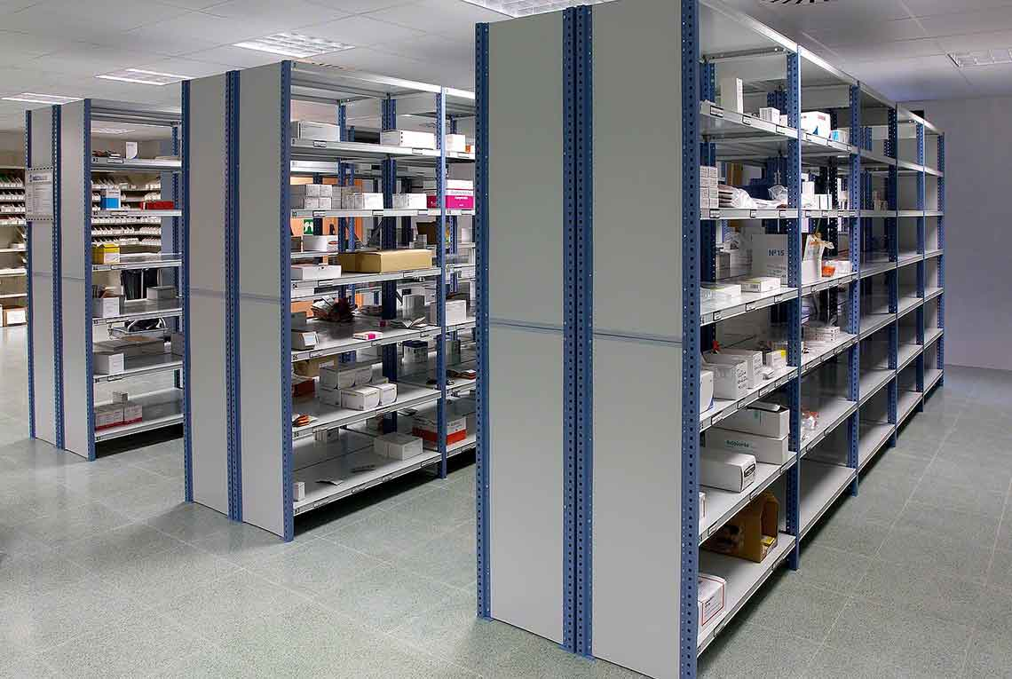 Office Garage Shelving Pallet Racking And Mezzanine
