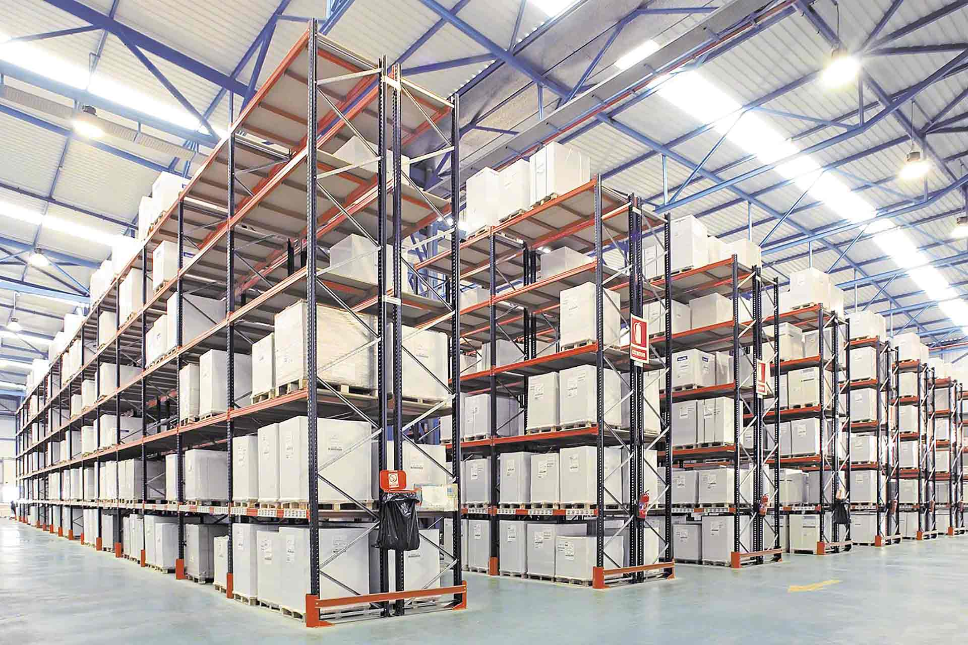 Warehouse pallet racking shelving mezzanine floors and for Warehouse racking layout software free